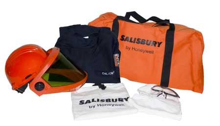 Salisbury Pro-Wear HRC2 Arc Flash Protection Premium Coverall Kits 12 cal/cm�