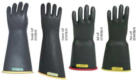 Salisbury Insulating Rubber Gloves For Linesmen