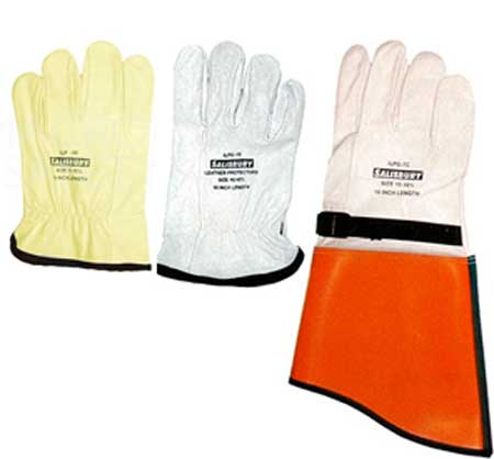 Salisbury Leather Protector Gloves For Rubber Insulating Gloves