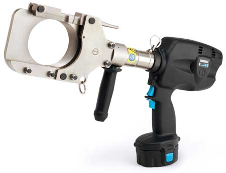 Hydraulic Cutters Profiled Contact Wire Cutters Rail