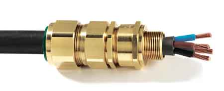 CMP E1FW Cable Glands For Hazardous Area