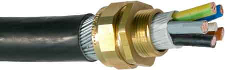 CMP BW90 LSF Brass Cable Gland