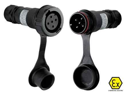 Marechal PNCX ATEX Plugs & Sockets