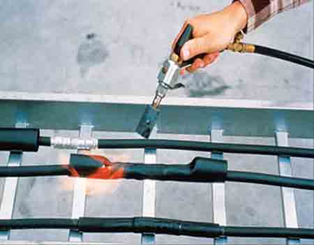 Heat Shrink Tubing Installation