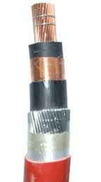 11kV Single Core Polymeric XLPE AWA PVC Cable BS6622 IEC60502-2