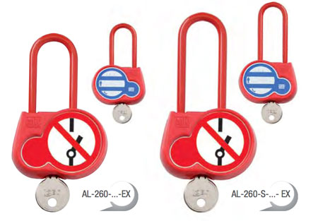 CATU Locking Padlocks With Insulated Shackle