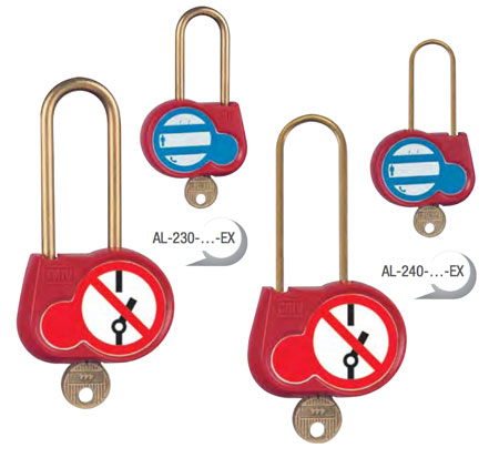 CATU Locking Padlocks With Pictograms