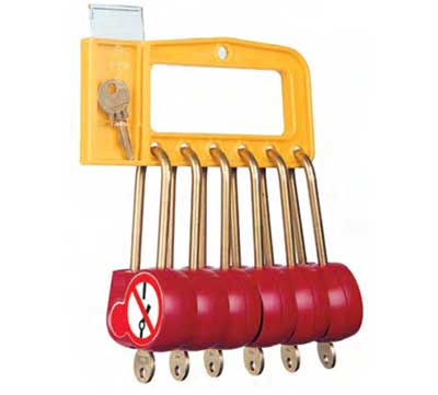 CATU Lockout / Tagout Padlock Stations - 'Lockout Manager' Model