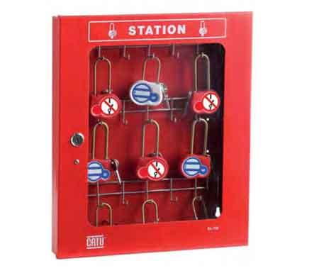 CATU Lockout / Tagout Padlock Stations - Storage Cabinet