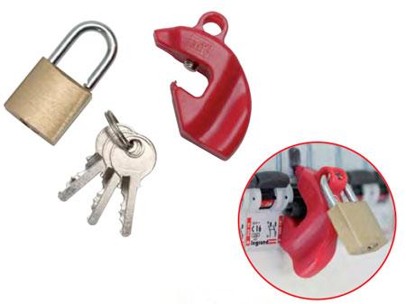 CATU Lockout / Tagout Circuit Breaker Lockers - Clipblock Small Model