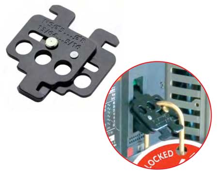 CATU Lockout / Tagout Circuit Breaker Lockers - Model For Moulded Units