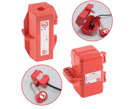 CATU Lockout / Tagout Lockers & Cabinets - Electrical or Pneumatic Socket Lockers