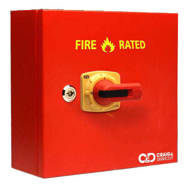 Fire Rated Isolators - Craig Derricott