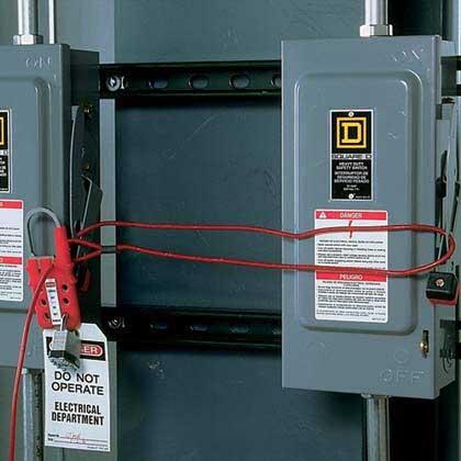 Panduit Multiple Lockout Device Lockout Tagout Electrical