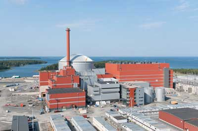 Pictured : OL3 Finland - Nuclear Power Plant (Source TVO)