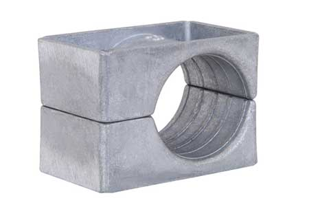 Ellis Patents Single Hole Aluminium Cable Cleats