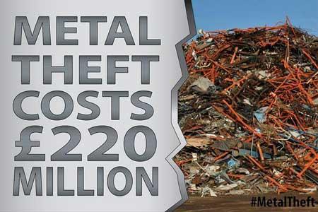 #MetalTheft