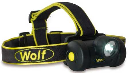 Wolf Hazardous Area Portable Lighting - HT-650 ATEX LED Headight