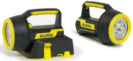 Wolf Hazardous Area Portable Lighting - Wolflife XT Rechargeable LED Lamp