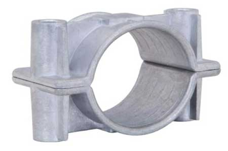 Ellis Patents Aluminium Two Hole Cable Clamps