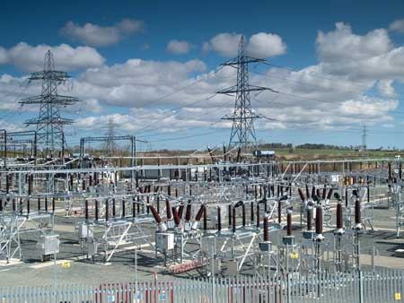 SUBSTATION, EARTHING SUBSTATIONS, EARTH GRIDS, EARTH RODS, FAULT