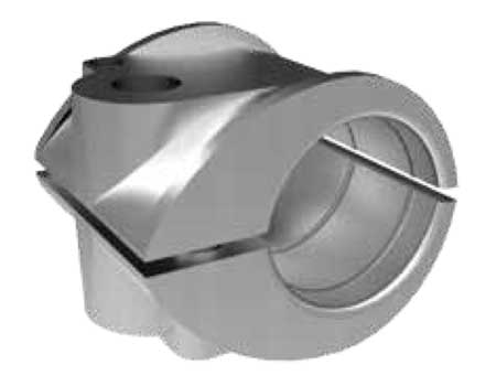 Prysmain Bicon Aluminium Claw Cable Cleats - 370 Series