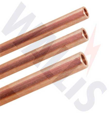 AN Wallis Solid Copper Earth Rods