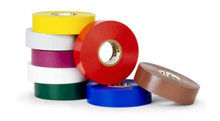 Vinyl Plastic Electrical Tape by 3m Company 3PK