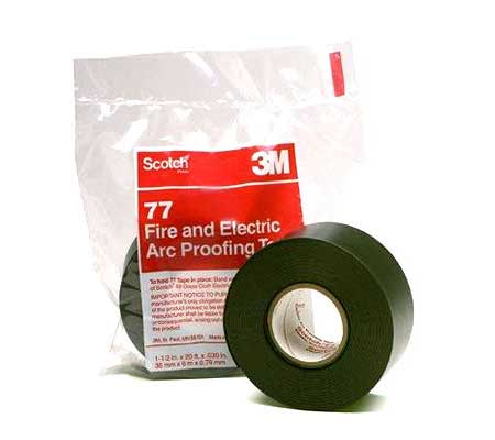 3M Scotch 77 Fire Proofing Tape - 152mm