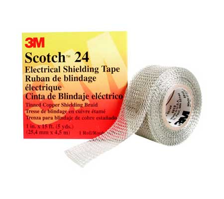 3M Scotch Electrical Shielding Grounding & Earth Braid Tapes