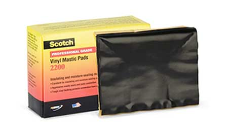 3M Scotch 2200 Pads - Vinyl Mastic Tape