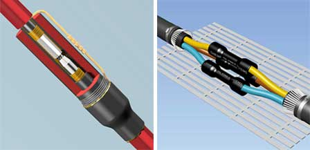 Paper lead cable terminations