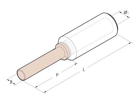 Cembre Bi-Metallic Pin Connectors - MTA50-C