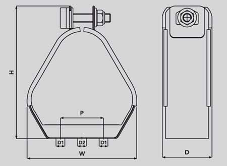 Ellis Patents Vrt 06 Vulcan Cable Cleat
