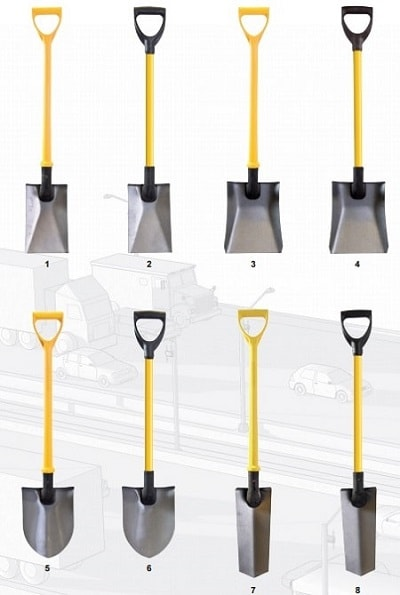Insulated Tools (Jafco) - Power Pylon Shovels & Spades