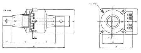 ABB TTR 4x Current Transformer