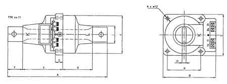 ABB TTR 6x Current Transformer