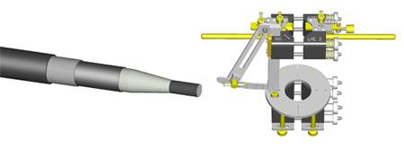 Alroc LHC4 Insulation Chamfering Tool - Prysmian 8YRO-NO4