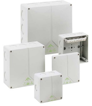 HALOGEN FREE JUNCTION BOXES, IP65, ELECTRICAL ENCLOSURES