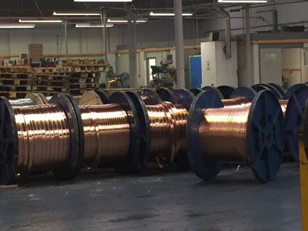 AN Wallis Copper Earth Tapes For Substations