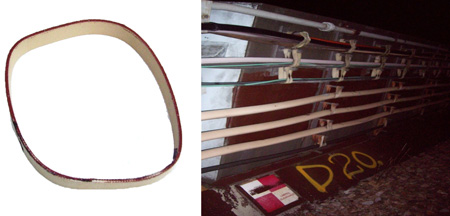 Balata Cable Strapping For London Underground