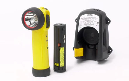 Wolf Rechargeable Torches R-30, R-50 & R-55