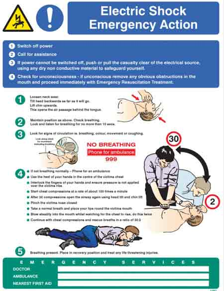 Emergency Resuscitation Procedure for Electrocution Victims