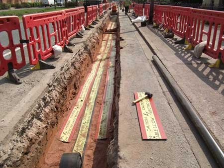 Centriforce Stokbord Underground Cable Covers Ordered For
