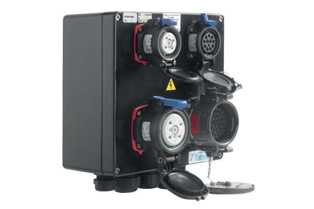 MXBS Socket-Outlet Combination Boxes