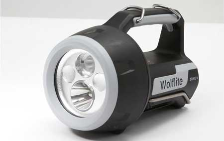 Wolf Wolflite XT-70 Rechargeable LED Handlamp ATEX