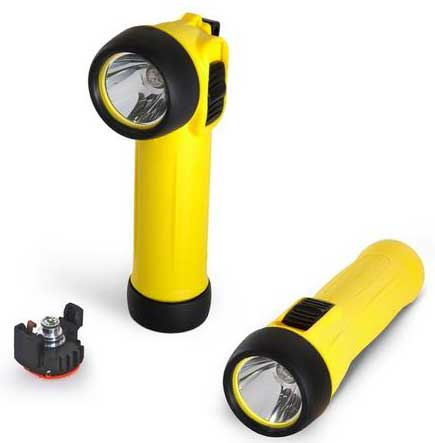Wolf TS-30+ ATEX Safety Torch With LED for Hazardous Areas Zone 1 & Zone 2