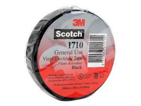 3m Tartan General Use Vinyl Electrical Insulating Tape 1710