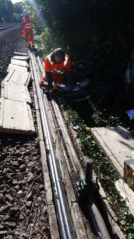 33kv Cable Jointing Using 3m Qs2000 Cold Shrink Joints On