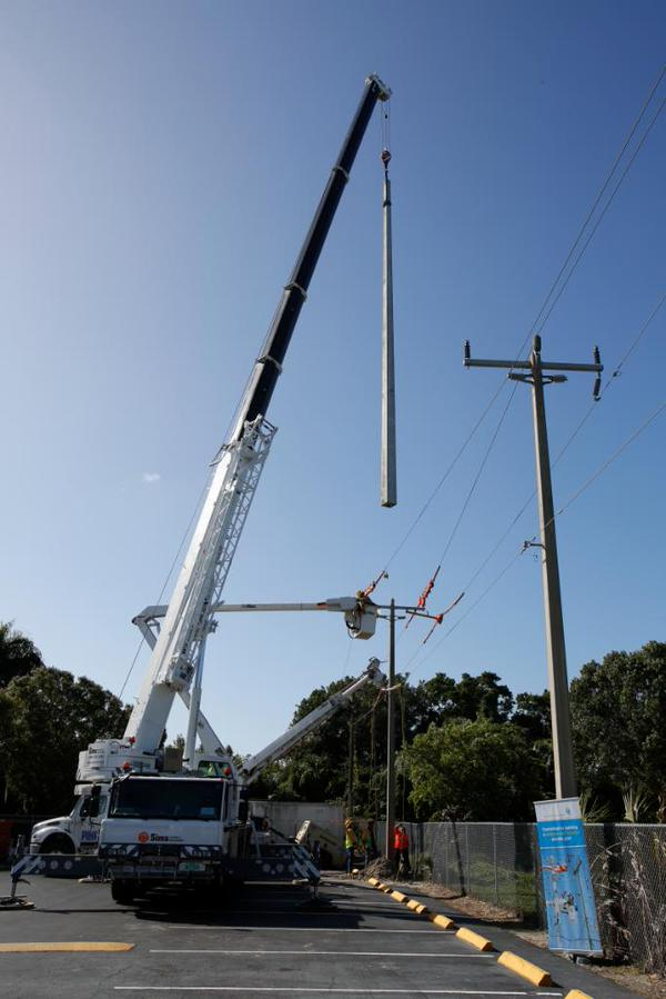 Saluting The Linemen Of Florida Power Amp Light Company